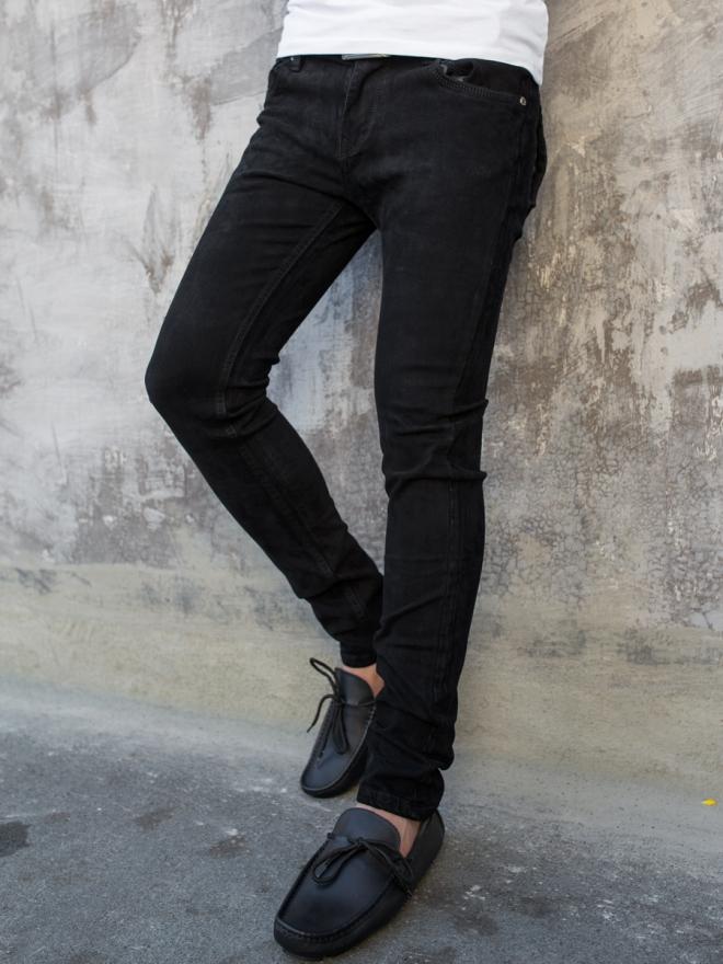 Quần jean skinny đen qj1330 - 1