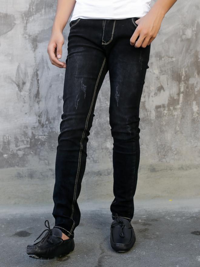 Quần jean skinny đen qj1331 - 1