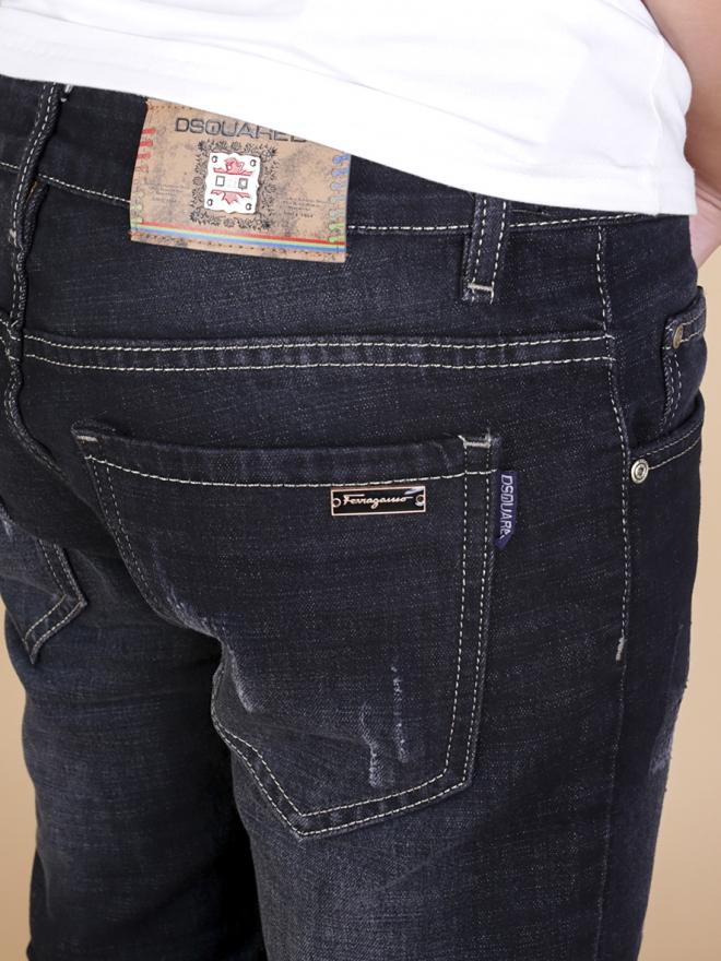 Quần jean skinny đen qj1333 - 2