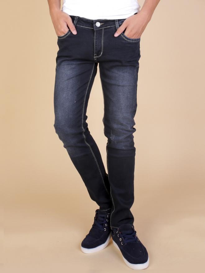 Quần jean skinny đen qj1334 - 1