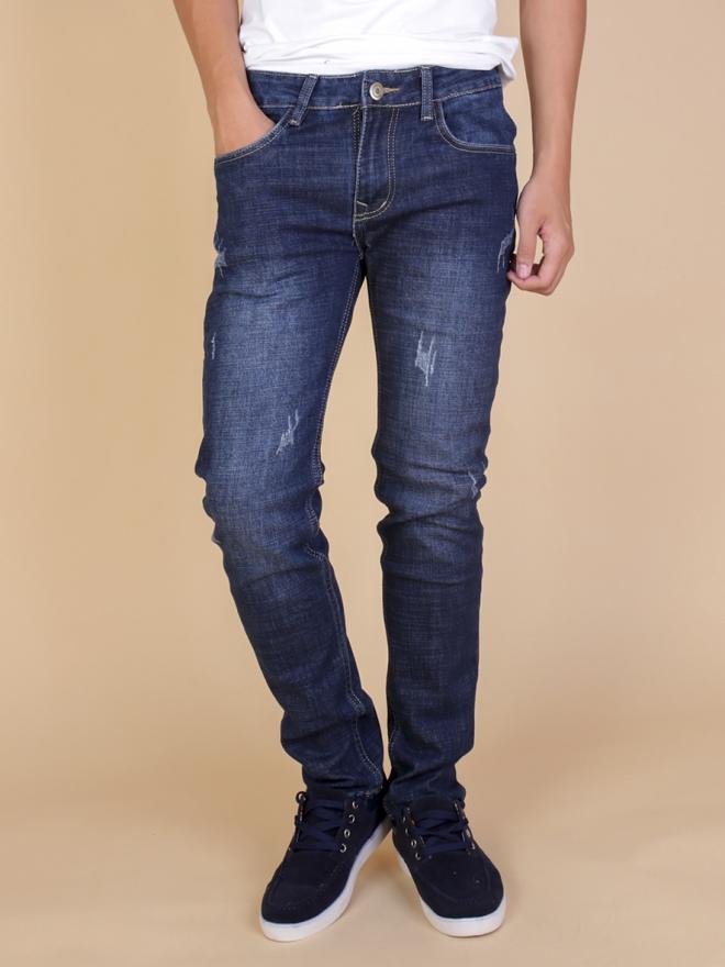 Quần jean skinny xanh đen qj1333 - 1