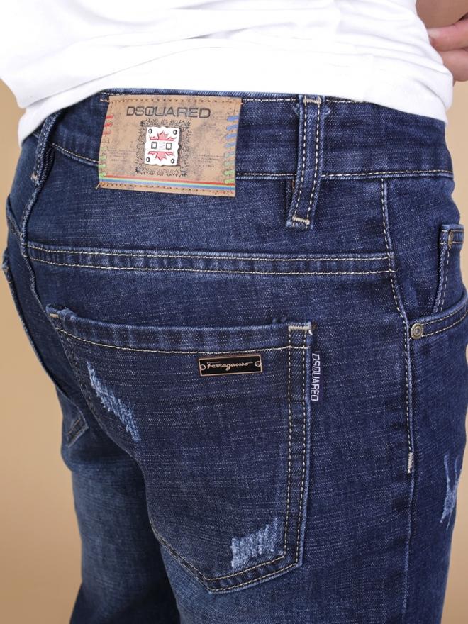 Quần jean skinny xanh đen qj1333 - 2