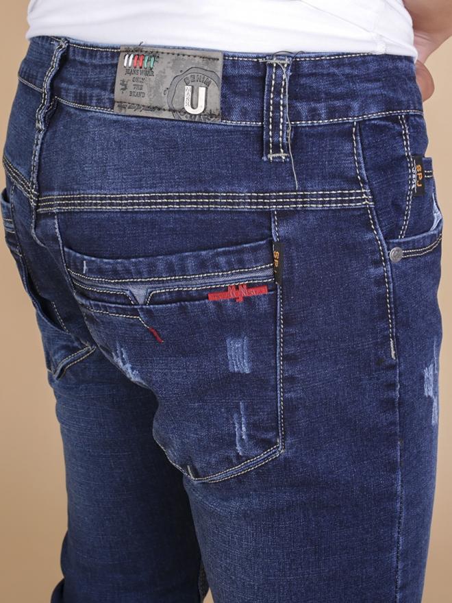 Quần jean skinny xanh đen qj1334 - 2