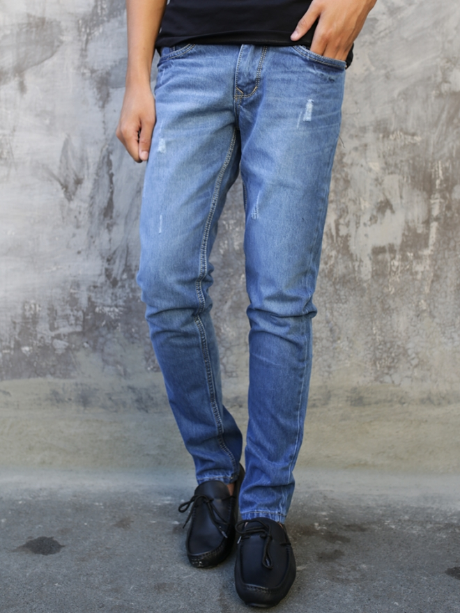 Quần jean skinny xanh qj1327 - 1