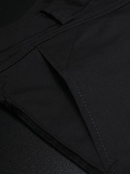 Quần kaki hàn quốc đen qk142 - 2