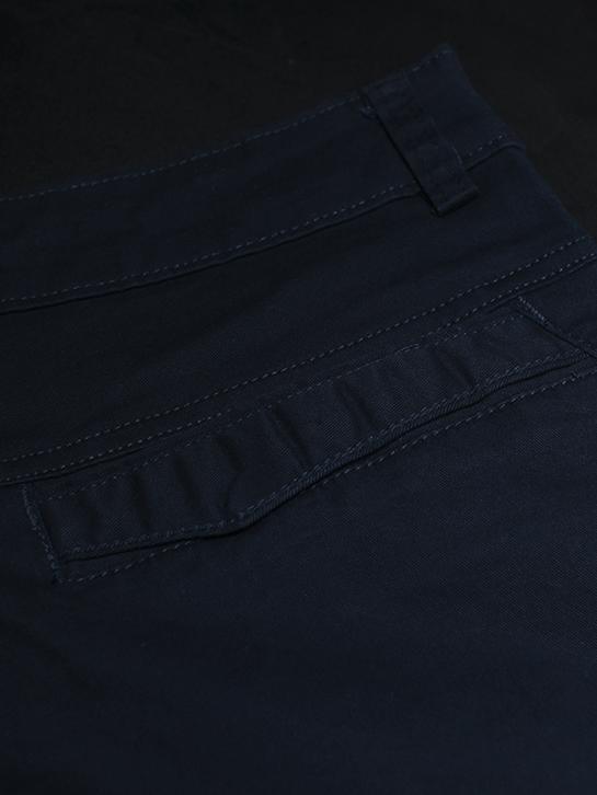 Quần kaki hàn quốc xanh đen qk148 - 2