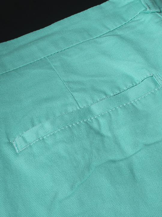 Quần kaki hàn quốc xanh ngọc qk140 - 2