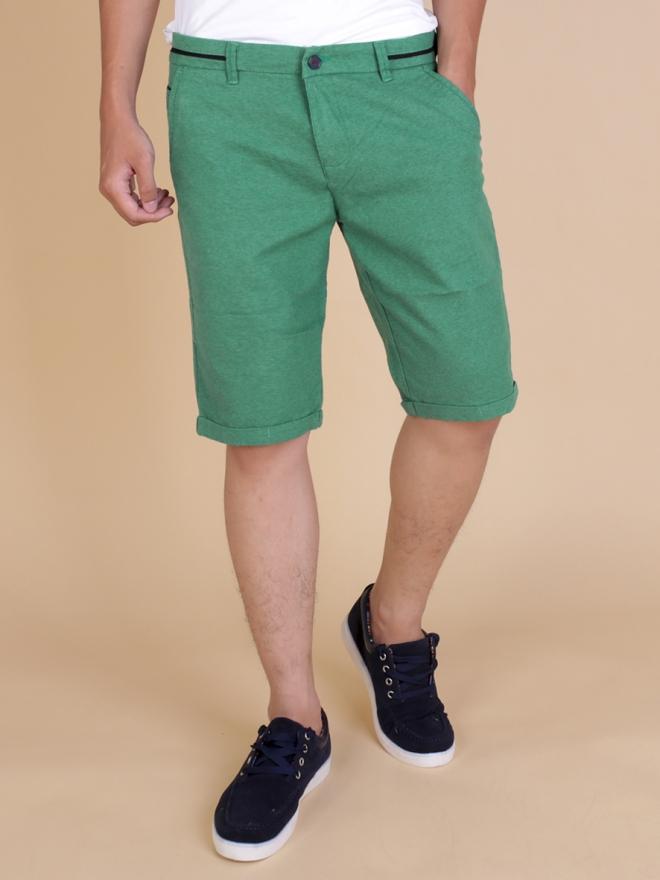 Quần short kaki xanh lá cây qs62 - 1