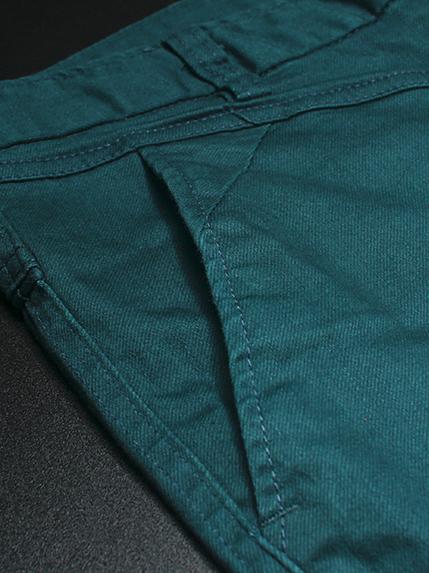 Quần kaki hàn quốc xanh cổ vịt nhạt qk142 - 2