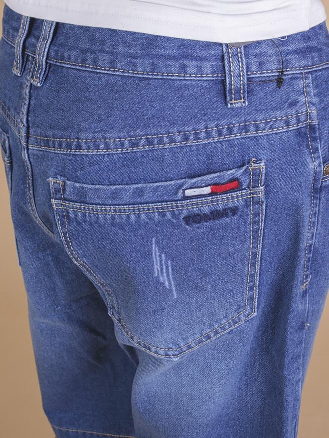 Quần short jean xanh qs64 - 2