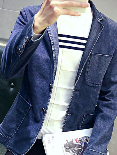 Áo vest jean xanh đen av1091 - 2