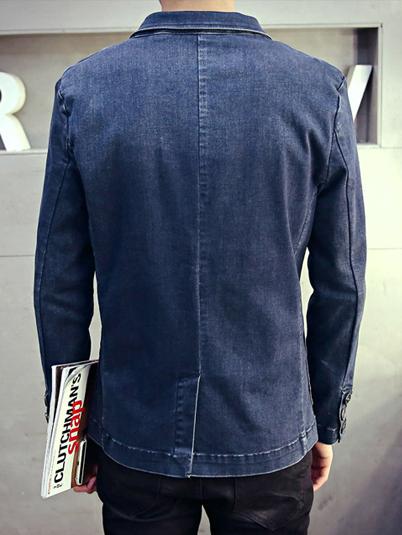 Áo vest jean xanh đen av1091 - 4