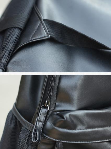 Balo da thời trang nam đen bl003 - 1