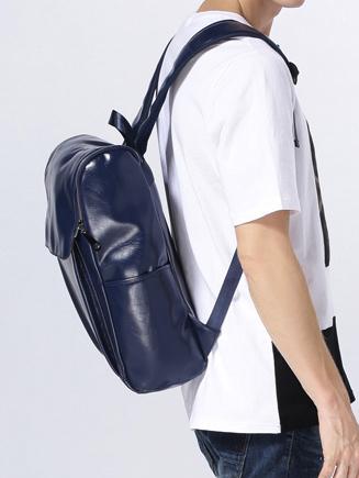 Balo da thời trang nam xanh bl005 - 3