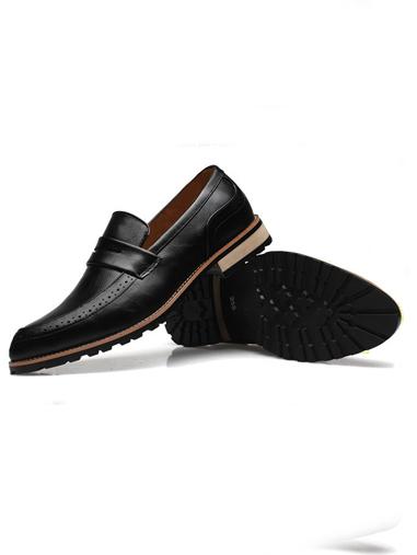 Giày mọi da đen g66 - 3