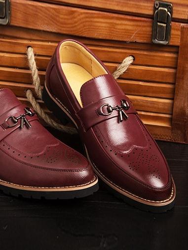 Giày Tây Đỏ G65