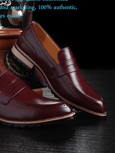 Giày tây đỏ g66 - 3