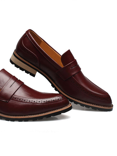Giày tây đỏ g66 - 2