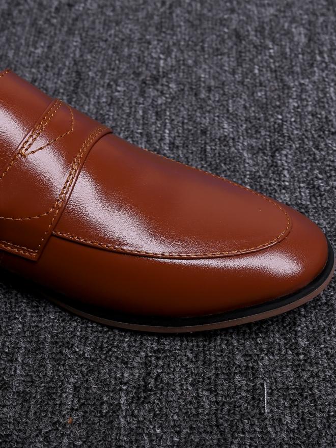 Giày tây màu bò g64 - 4