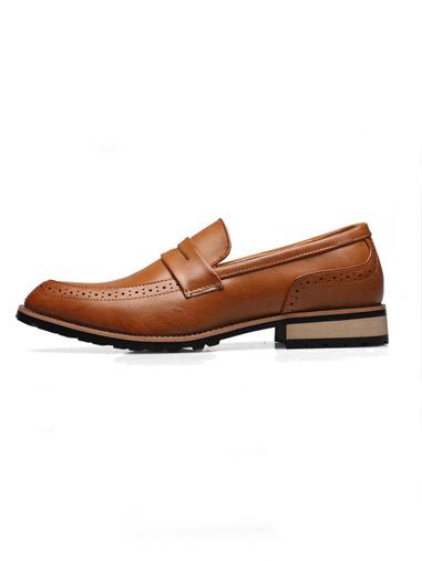 Giày mọi da màu bò g66 - 3