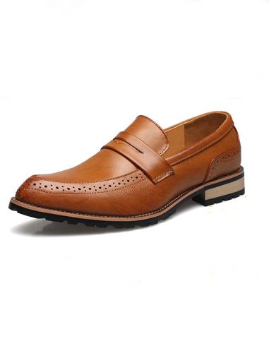 Giày mọi da màu bò g66 - 4
