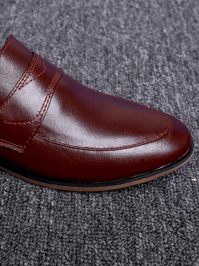 Giày tây nâu g64 - 4