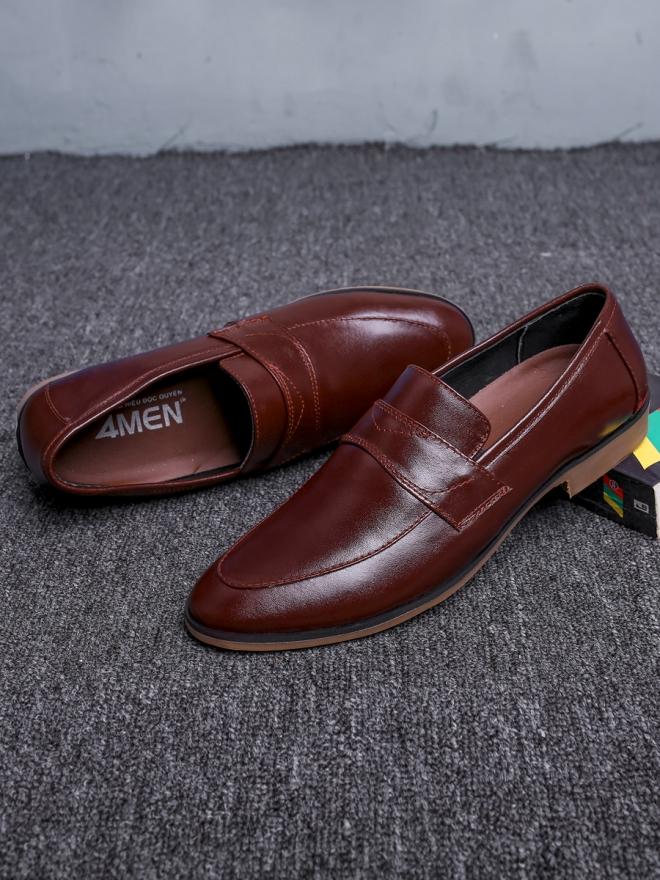 Giày tây nâu g64 - 2