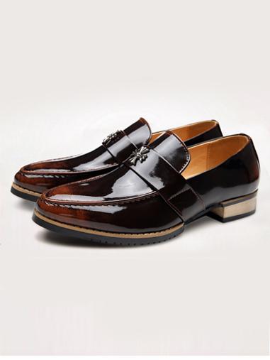 Giày Mọi Da Nâu G67