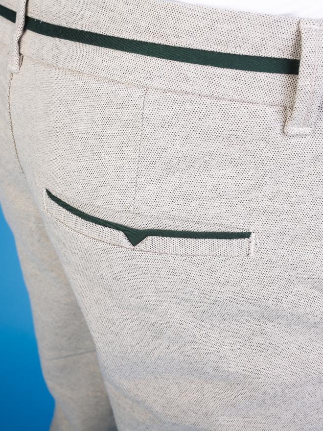 Quần Short Kaki Màu Kem QS62