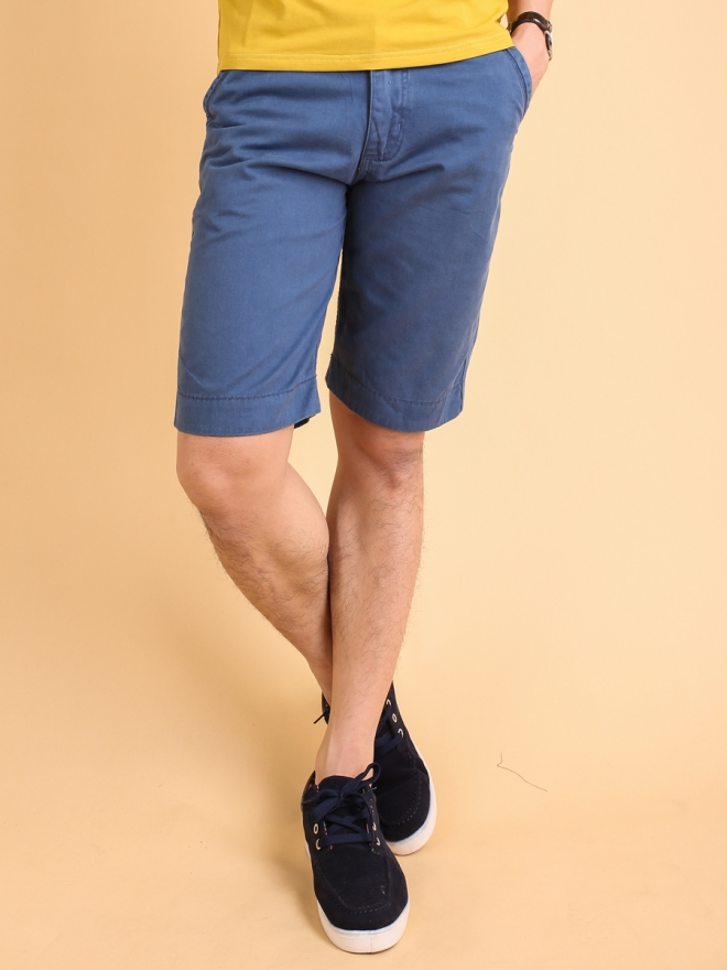 Quần short kaki xanh biển đậm qs72 - 1