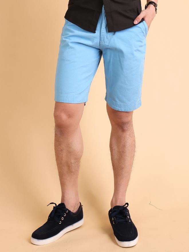 Quần short kaki xanh da trời qs72 - 1