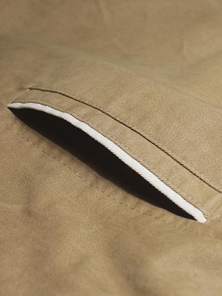 Áo khoác kaki màu bò ak182 - 1