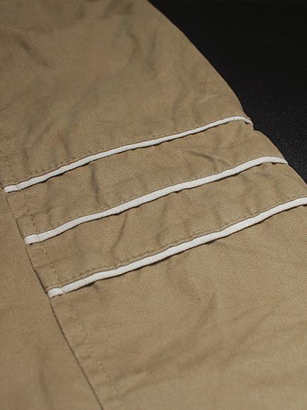 Áo khoác kaki màu bò ak182 - 2