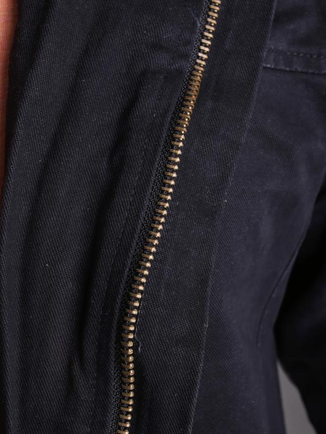Áo khoác kaki đen ak181 - 1