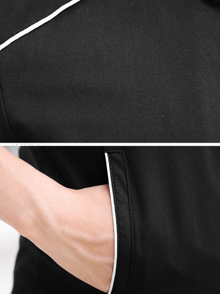 Áo khoác kaki đen ak182 - 2