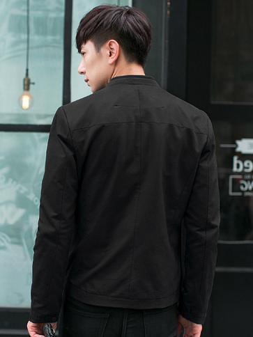 Áo khoác kaki đen ak185 - 2