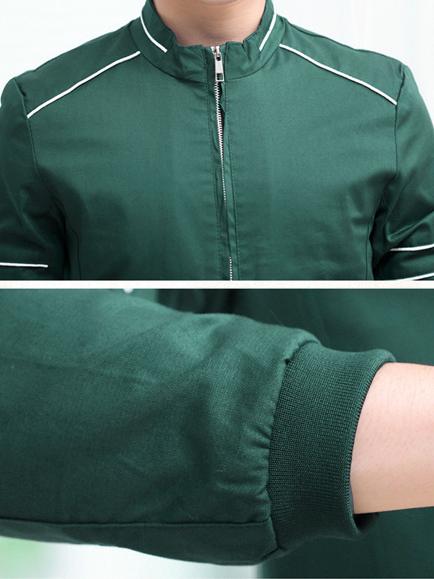 Áo khoác kaki xanh ak182 - 2
