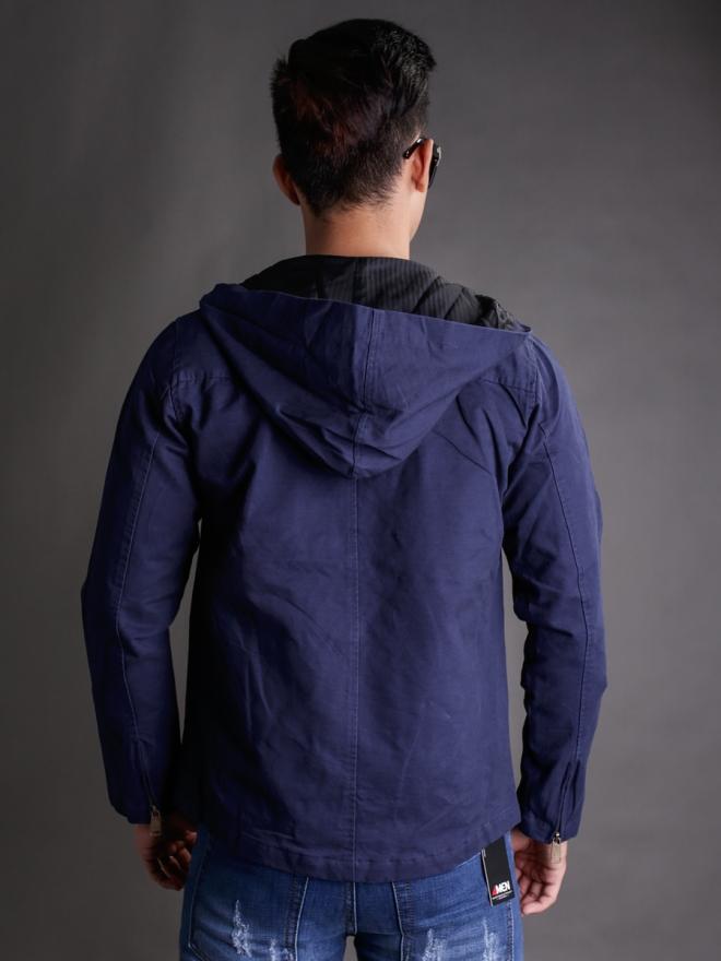 Áo khoác kaki xanh đen ak181 - 1