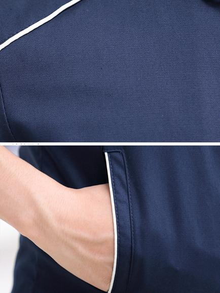 Áo khoác kaki xanh đen ak182 - 1