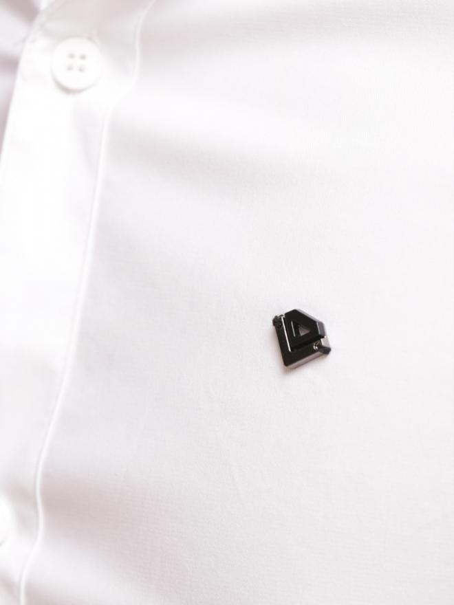 Áo sơ mi ngắn tay trắng asm776 - 1