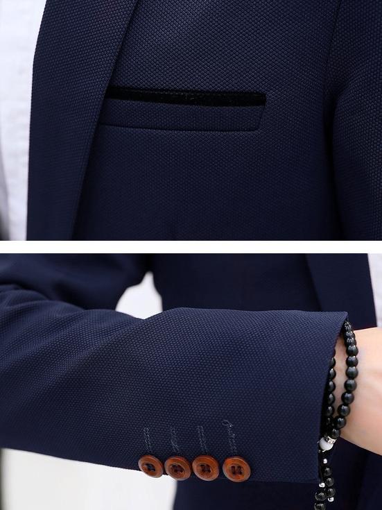 Áo vest cao cấp xanh đen av1088 - 2