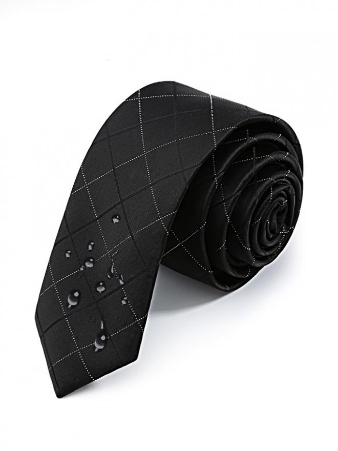 Cà vạt hàn quốc đen cv116 - 1