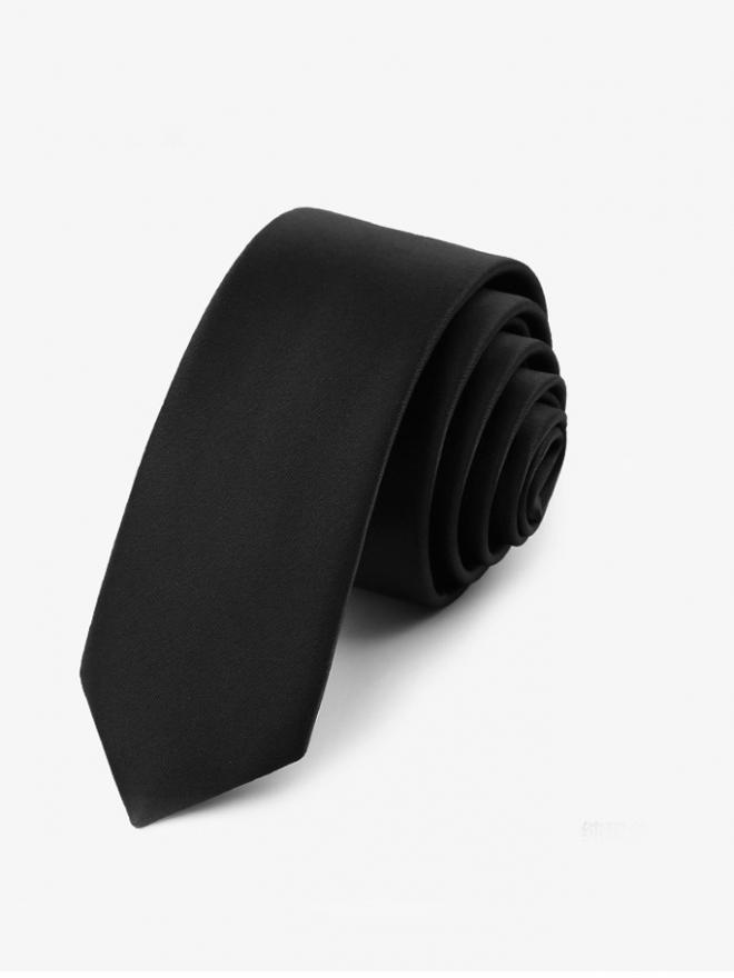Cà Vạt Hàn Quốc Đen CV19