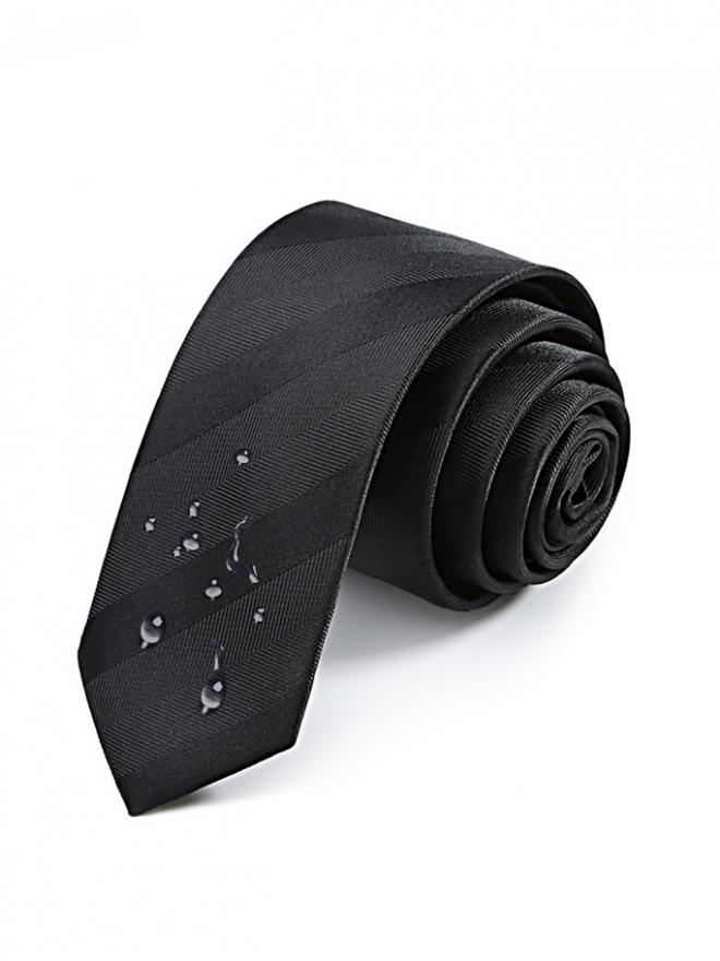Cà vạt hàn quốc đen cv99 - 1