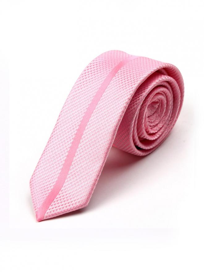 Cà vạt hàn quốc hồng cv98 - 1