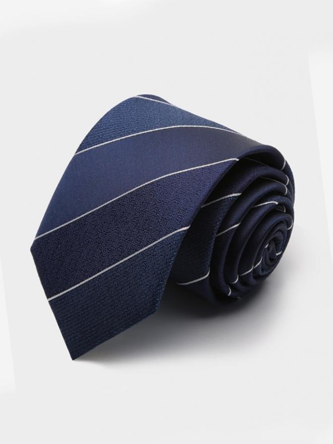 Cà vạt hàn quốc sọc cv111 - 1