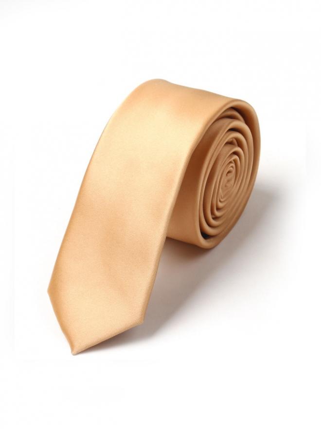 Cà vạt hàn quốc vàng cv19 - 1