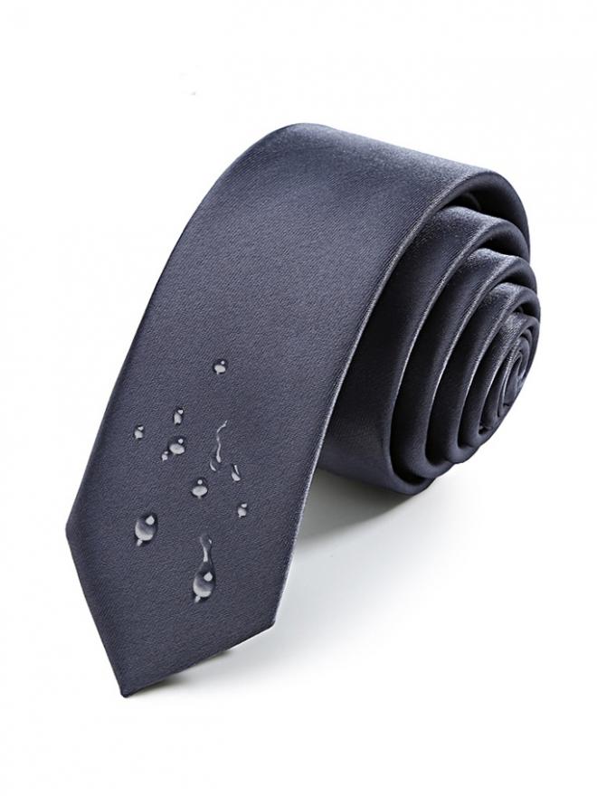Cà vạt hàn quốc xám chuột cv19 - 1