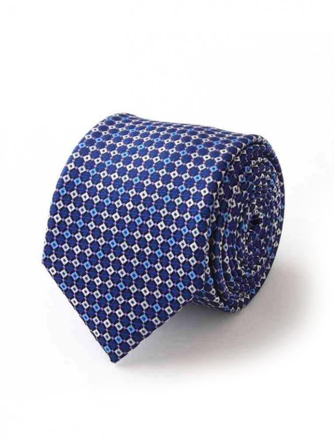 Cà vạt hàn quốc xanh bích cv102 - 1