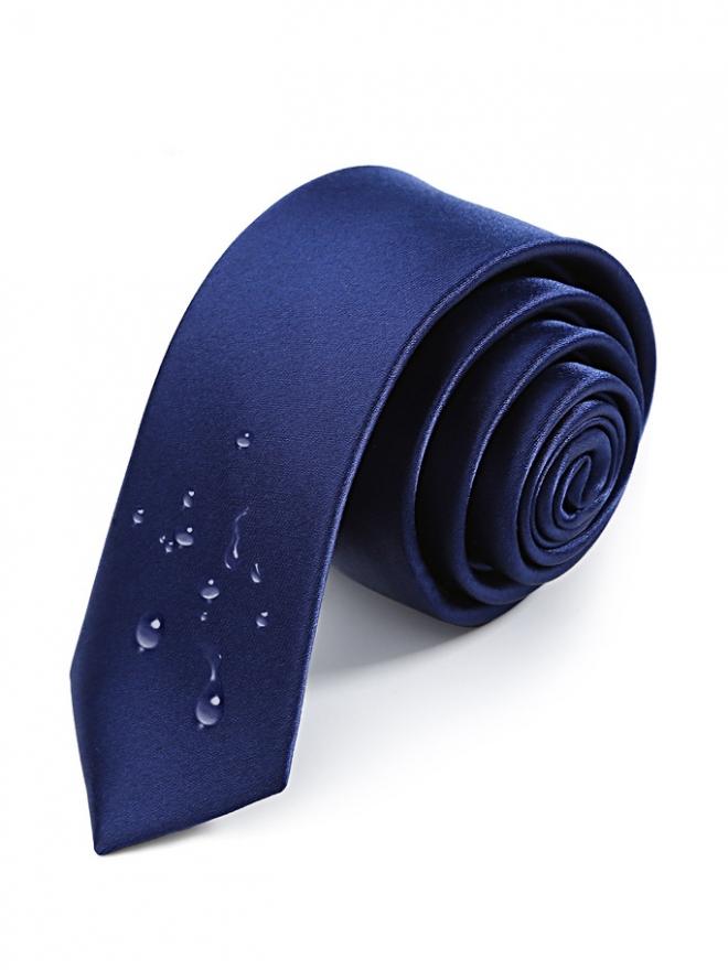 Cà vạt hàn quốc xanh bích cv19 - 1